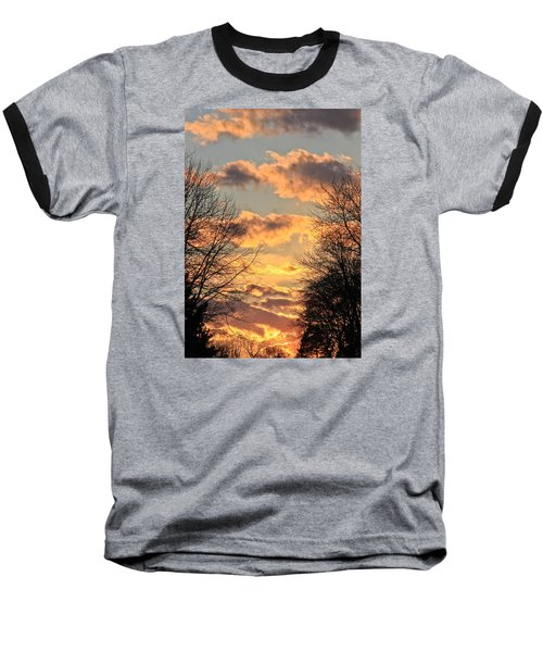 Baseball T-Shirt featuring the photograph Light Catcher by Julie Andel