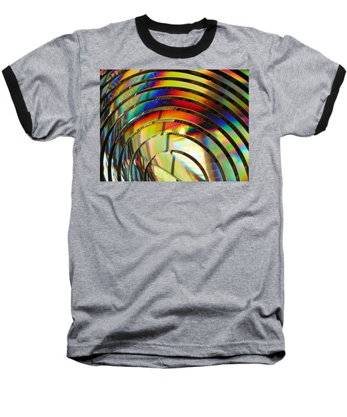 Light Color 2 Prism Rainbow Glass Abstract By Jan Marvin Studios Baseball T-Shirt