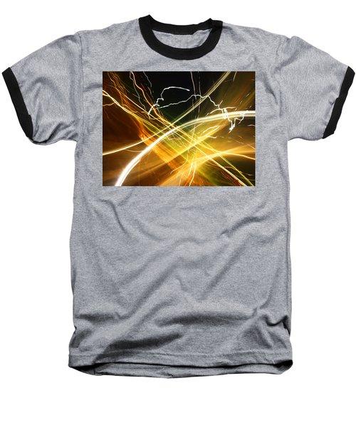Light Curves 3 Baseball T-Shirt by David Pantuso