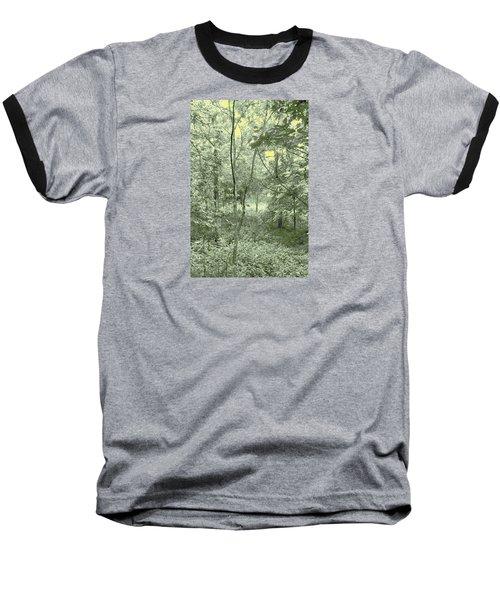 Light Forest Scene Baseball T-Shirt