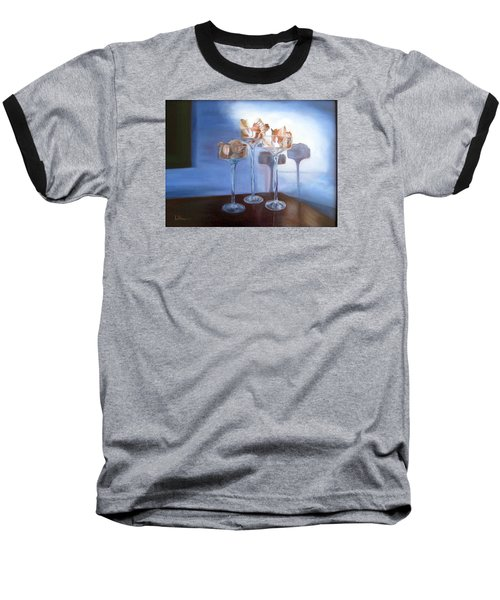 Light Glass And Shells Baseball T-Shirt