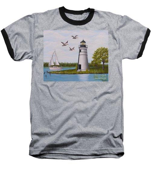 Light  In Madisonville Baseball T-Shirt