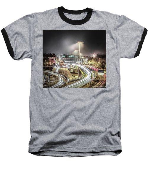Baseball T-Shirt featuring the photograph Light Moves by Stwayne Keubrick