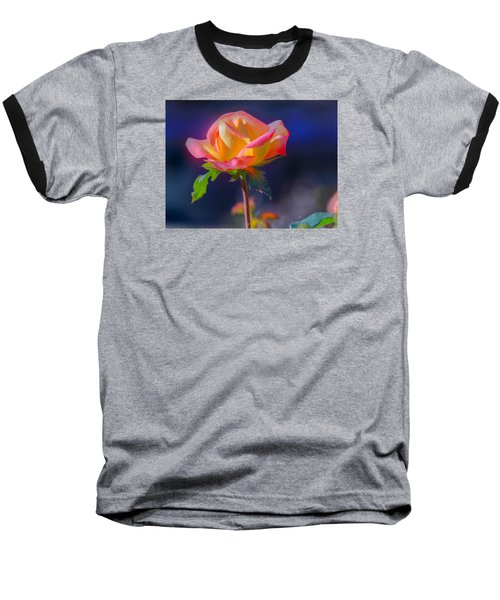 Flower 10 Baseball T-Shirt