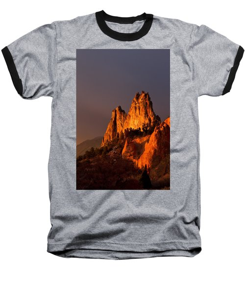Light On The Rocks Baseball T-Shirt