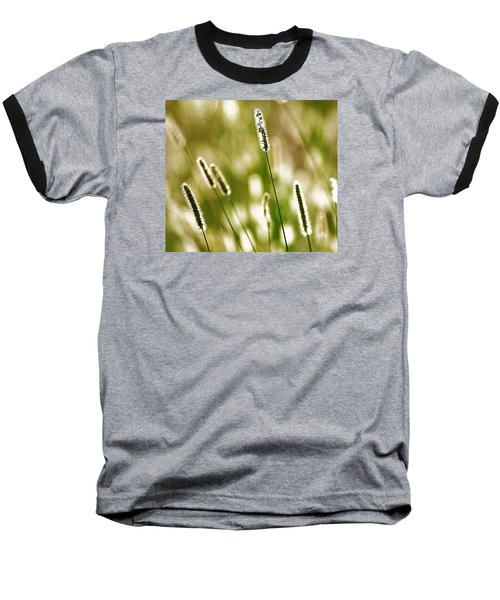 Baseball T-Shirt featuring the photograph Light Play by Andy Crawford