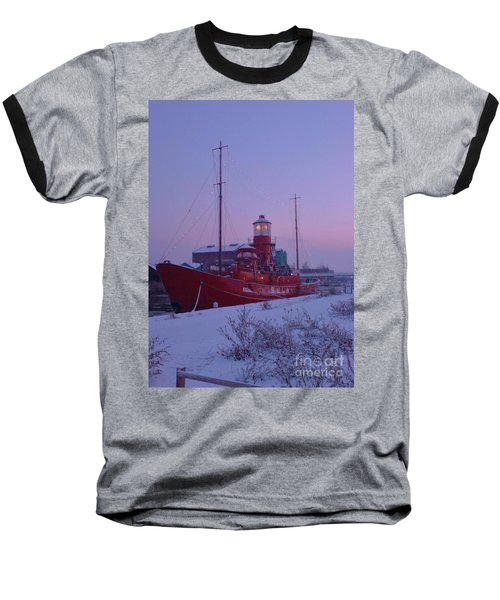 Baseball T-Shirt featuring the photograph Light Ship by John Williams