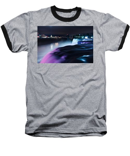 Baseball T-Shirt featuring the photograph Light Show by Mihai Andritoiu