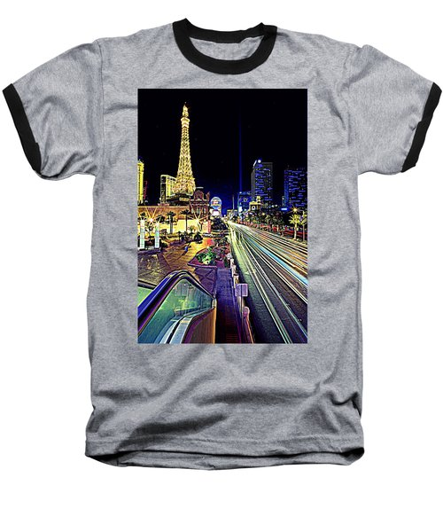 Light Speed Vegas Baseball T-Shirt