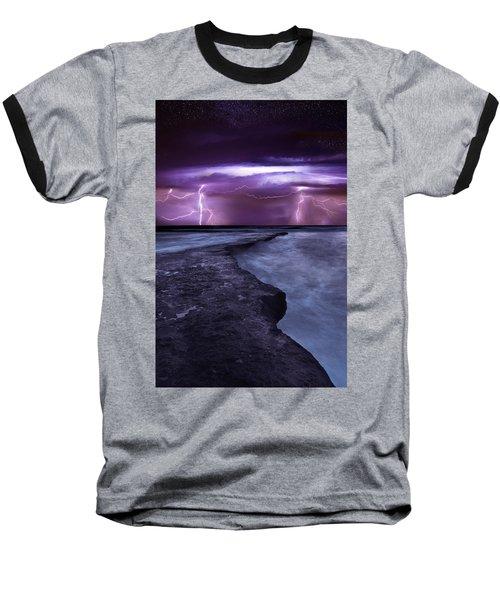 Light Symphony Baseball T-Shirt by Jorge Maia