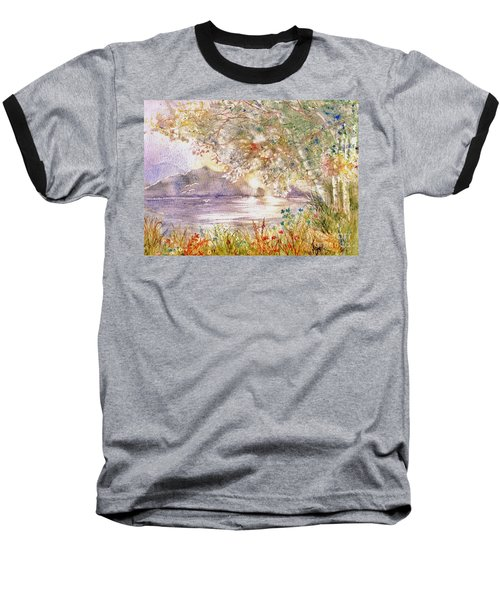 Light Through The Pass Baseball T-Shirt