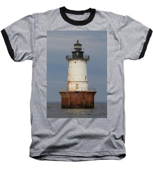 Lighthouse 3 Baseball T-Shirt