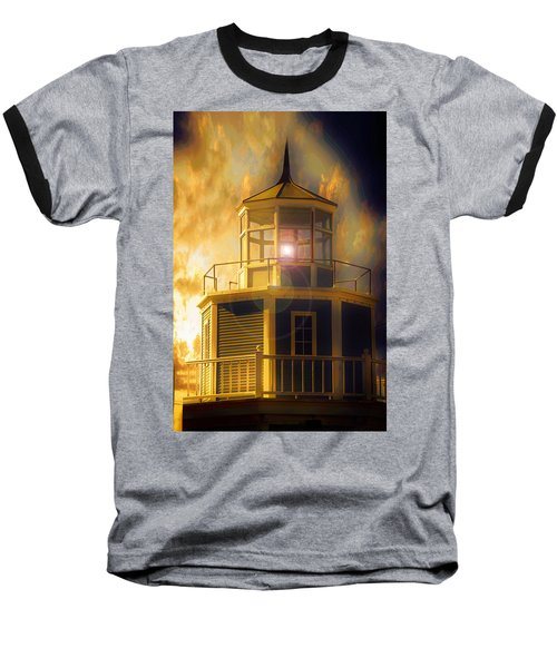 Ocean Baseball T-Shirt featuring the photograph Lighthouse  by Aaron Berg