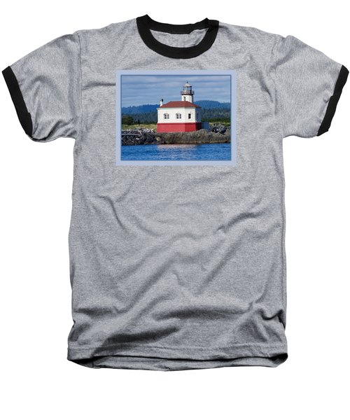 Baseball T-Shirt featuring the photograph Lighthouse by Adria Trail
