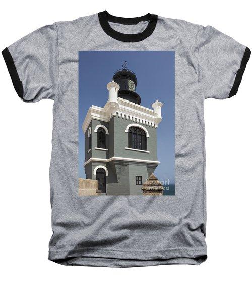 Lighthouse At El Morro Fortress Baseball T-Shirt