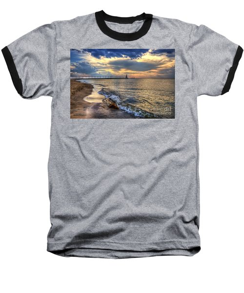 Lighthouse Drama Baseball T-Shirt