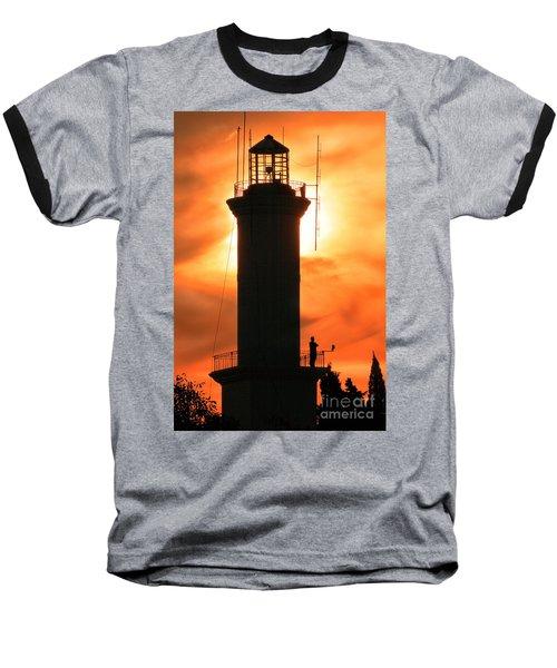 Baseball T-Shirt featuring the photograph Lighthouse I by Bernardo Galmarini
