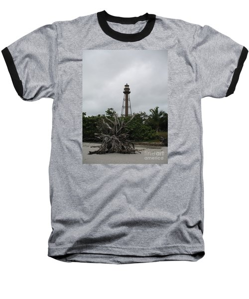 Baseball T-Shirt featuring the photograph Lighthouse On Sanibel Island by Christiane Schulze Art And Photography