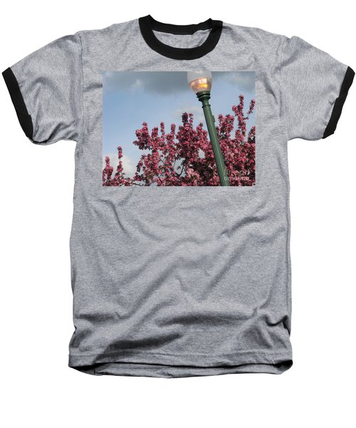 Baseball T-Shirt featuring the photograph Lighting Up The Day by Michael Krek