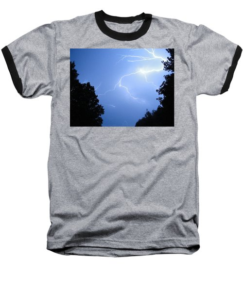 Lighting Up The Night Baseball T-Shirt