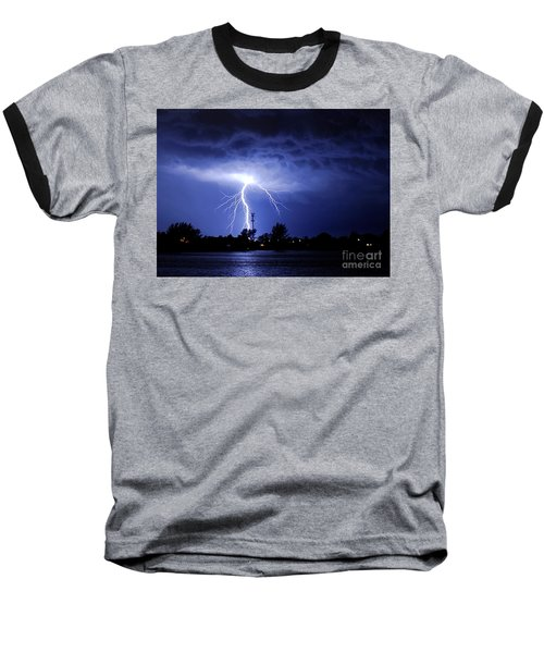 Power From Above Baseball T-Shirt