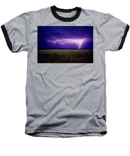Lightning Serengeti Baseball T-Shirt