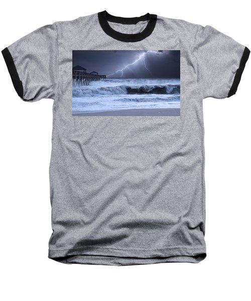 Lightning Strike Baseball T-Shirt
