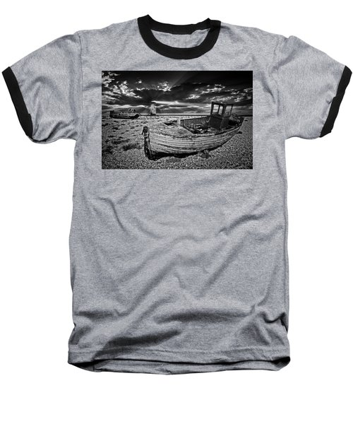 Baseball T-Shirt featuring the photograph Like Moths To The Flame by Meirion Matthias