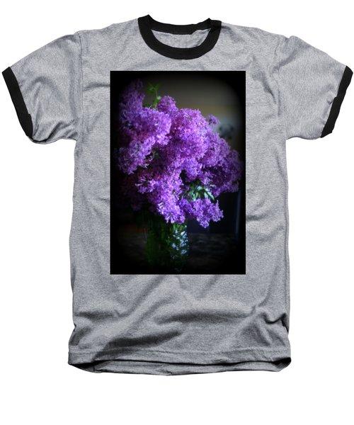 Lilac Bouquet Baseball T-Shirt