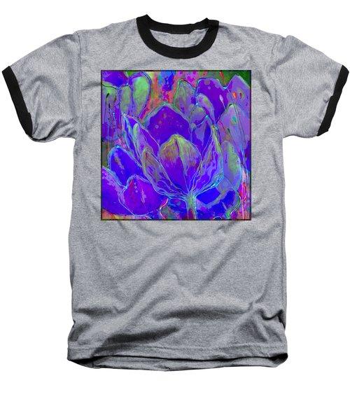 Lilac Fusion Baseball T-Shirt