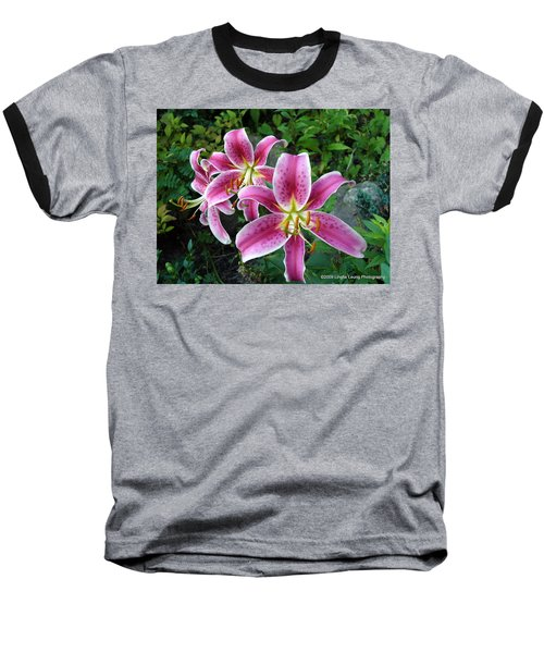 Baseball T-Shirt featuring the photograph Lilies Of The Field by Lingfai Leung