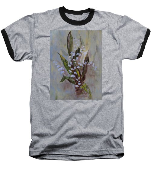 Lilies-of-the-valley Baseball T-Shirt