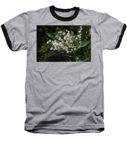 Lilies Of The Valley Baseball T-Shirt