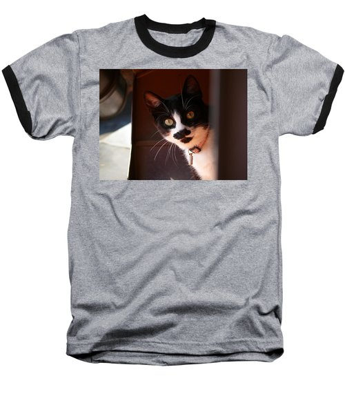 Baseball T-Shirt featuring the photograph Lilly by Evelyn Tambour