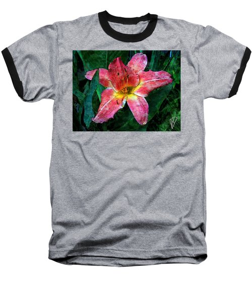 Lilly Of The Rain Baseball T-Shirt