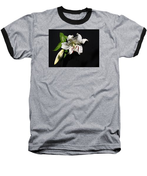 Lily At Daybreak Baseball T-Shirt by Nick Kloepping