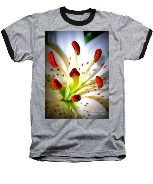Lily Center Baseball T-Shirt