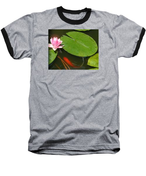Lily Flower Baseball T-Shirt