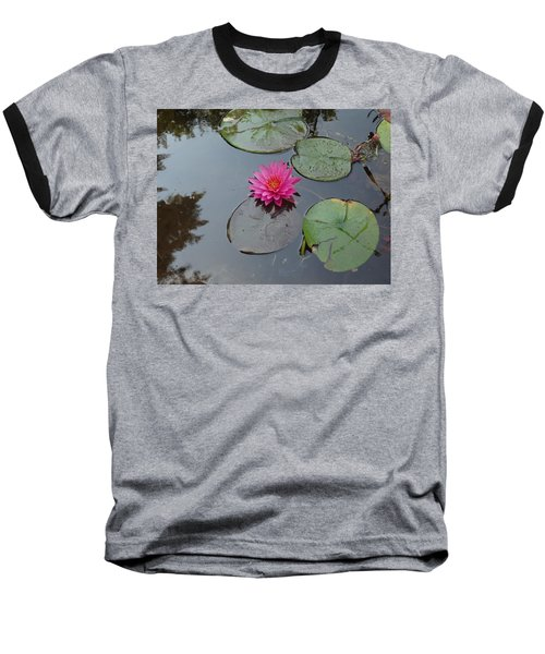 Lily Flower Baseball T-Shirt by Michael Porchik