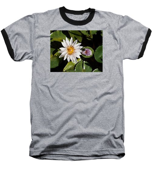 Lily Flowers Baseball T-Shirt