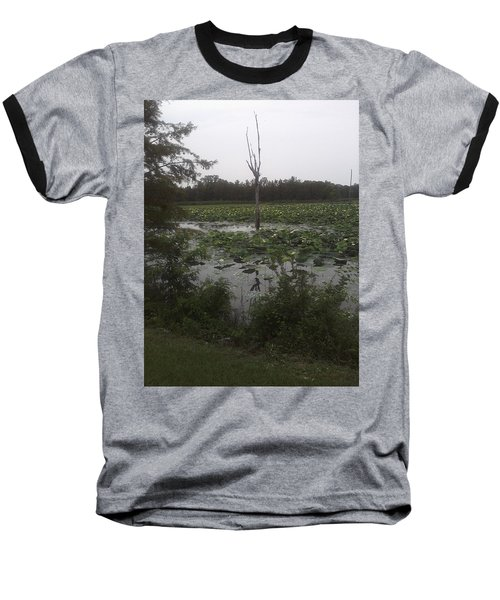 Baseball T-Shirt featuring the photograph Lily Pads by Fortunate Findings Shirley Dickerson