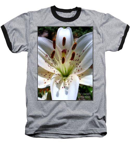 Baseball T-Shirt featuring the photograph Lily by Patti Whitten