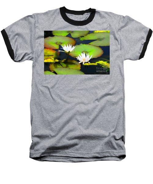 Lily Pond Bristol Rhode Island Baseball T-Shirt by Tom Prendergast