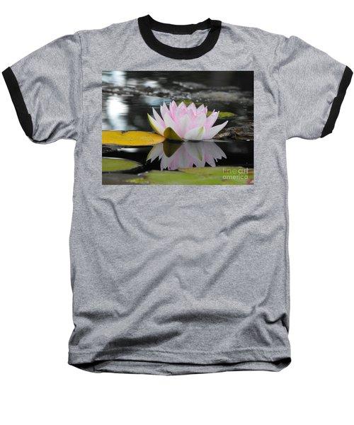 Lily Reflection Baseball T-Shirt