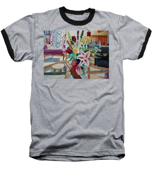 Lily Still Life Baseball T-Shirt