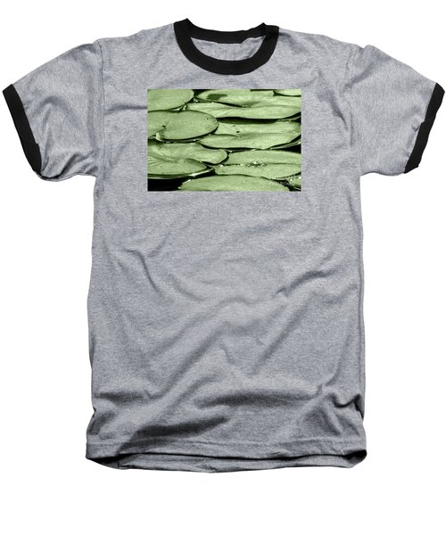 Lilypads Baseball T-Shirt by Roselynne Broussard
