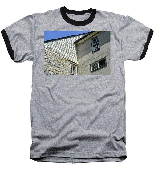 Lime Valley Mill Corner View Baseball T-Shirt