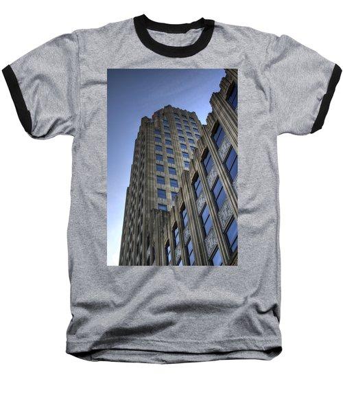 Lincoln Building Baseball T-Shirt