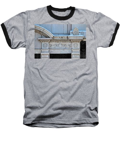 Lincoln County Courthouse Door Arch Baseball T-Shirt