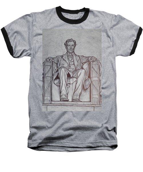 Lincoln Memorial Baseball T-Shirt by Christy Saunders Church
